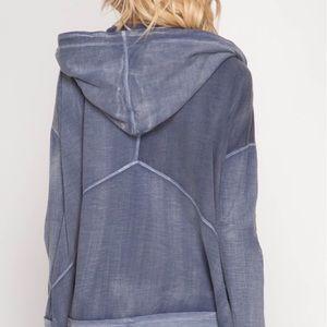 c2f75fc60 Edge Style Boutique Jackets & Coats - 🆕 Long Sleeve Navy Pigment Washed  Jacket.